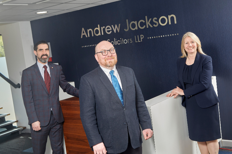 Andrew Jackson announces raft of promotions including new partners