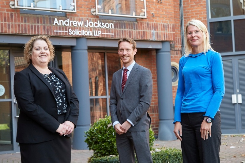 Andrew Jackson announces key appointments: Claire Ramsden and Juliette Fisher join the property team as Partners
